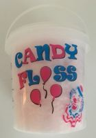 Filled 1 Litre Candy Floss Containers x 24