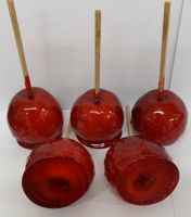 Red Toffee Apples x 20